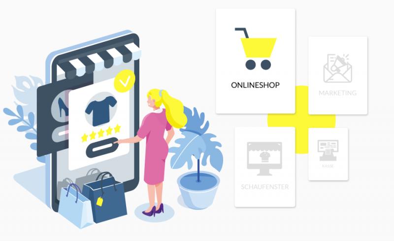 Onlineshop Einzelhandel